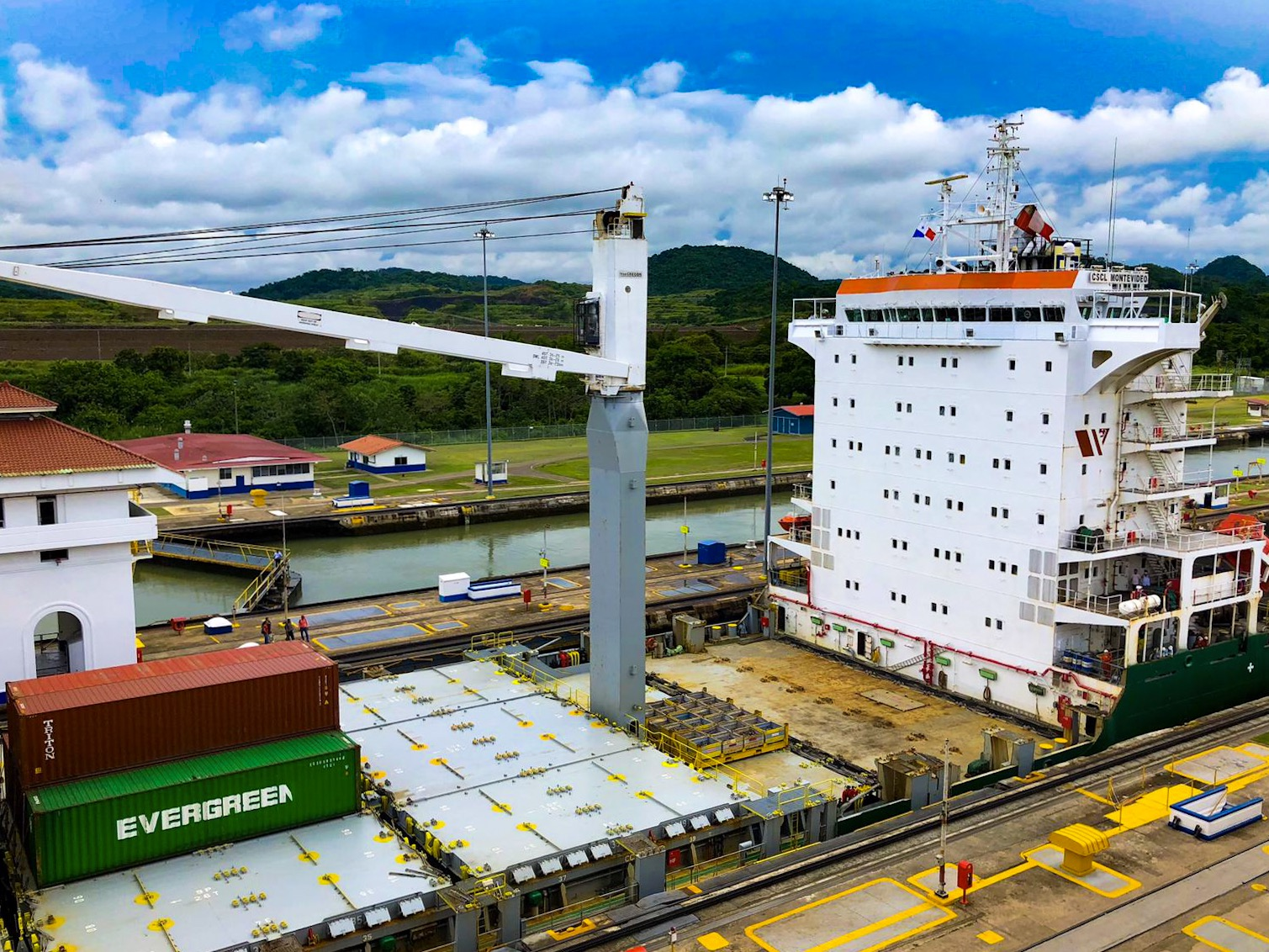 Panama canal, captured by Celia Ley