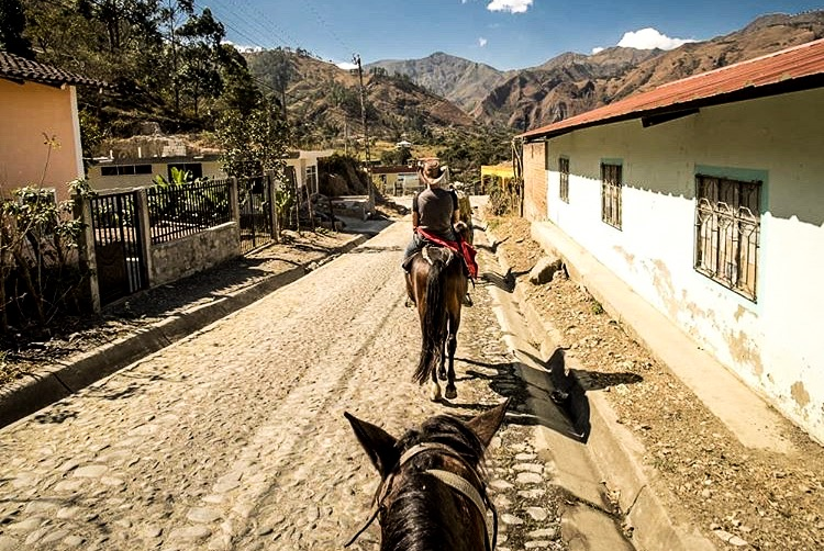 Horse riding in Vilcabamba