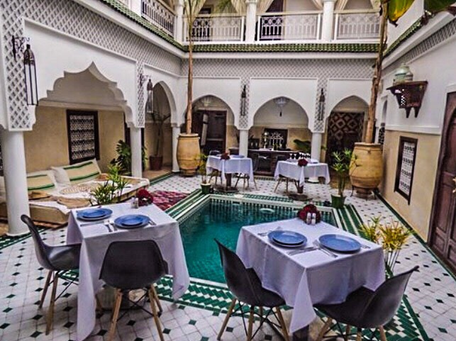 Marrakesh Riad and food