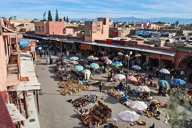 Marrakesh Jemma el Fnaa Square